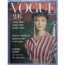 Vogue Magazine - 1960 - April